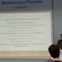 Masterclass at the Homebuilding & Renovating Show