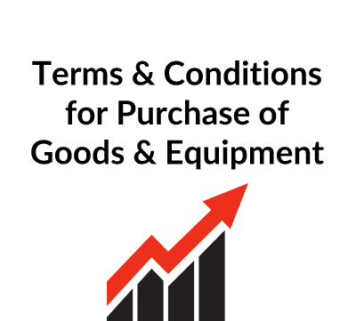 Standard Terms & Conditions For Purchase of Goods & Equipment