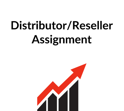 Distributor/Reseller Assignment