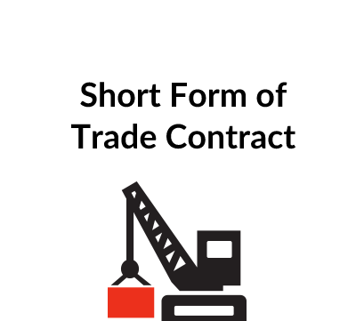 Short Form of Trade Contract
