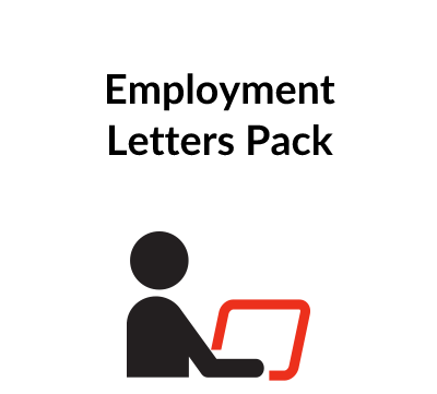 Employment Letters Pack