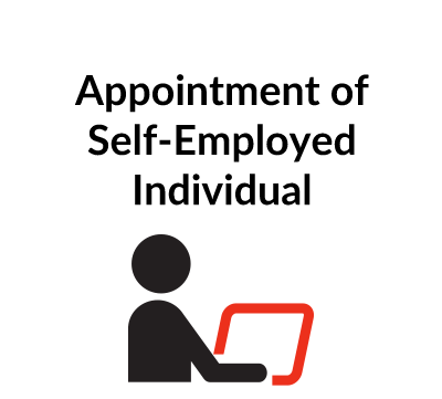 Appointment of Self-Employed Individual