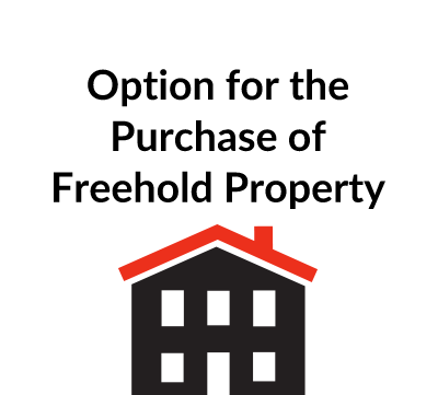 Option for the Purchase of Freehold Property