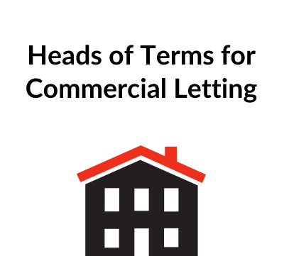 Heads of Terms for Commercial Letting