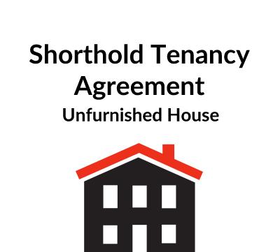 Shorthold Tenancy Agreement – Unfurnished House