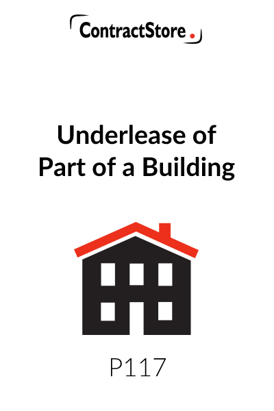 Underlease of Part of a Building