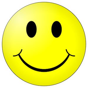 Keep happy - protect your creations. Image from http://www.wpclipart.com
