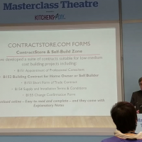 Masterclass at the Homebuilding & Renovating Show