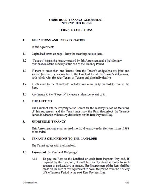 Landlord Tenancy Agreement Download Resume Templates – Landlord Tenancy Agreement Download