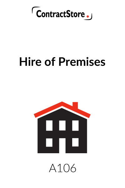 Hire of Premises Contract