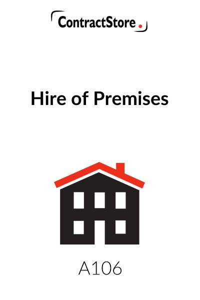Venue Hire Contract Template