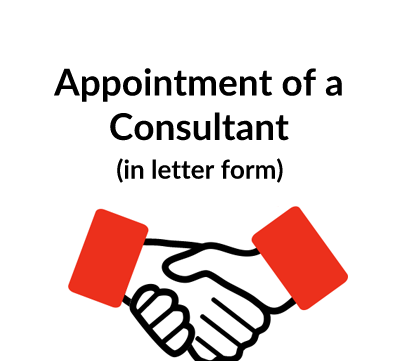 Appointment of a Consultant Contract Letter Template (Freelance)