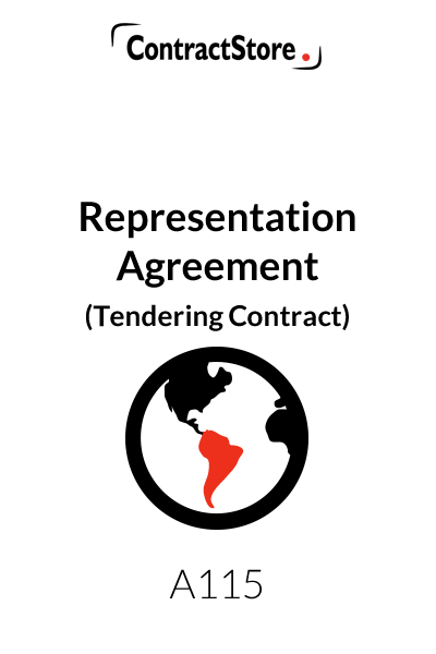 Representation Agreement (Tendering Contract)