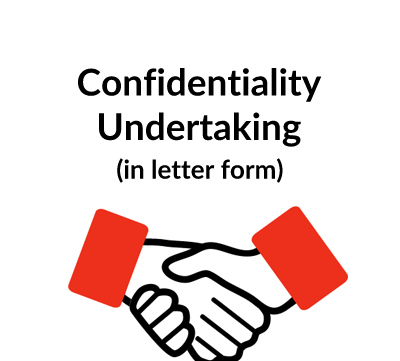 Confidentiality Undertaking Letter Template
