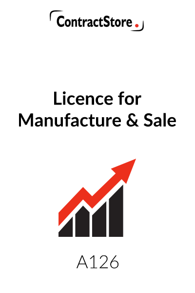 Licence for Manufacture and Sale