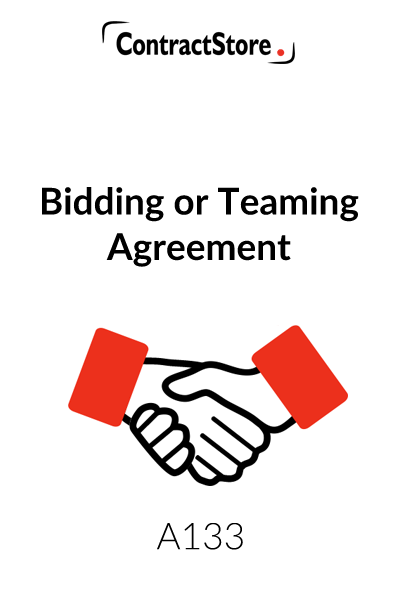 Teaming Agreement (or bidding)