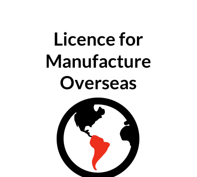 Licence Agreement for Manufacturing Overseas
