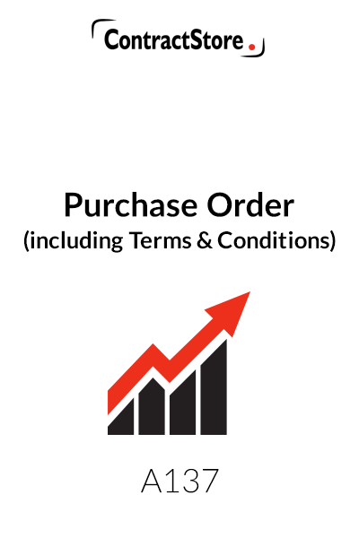 Purchase Order (including Terms and Conditions)