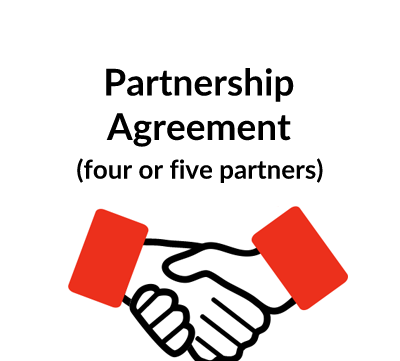 Partnership Agreement Template (4-5 Partners)