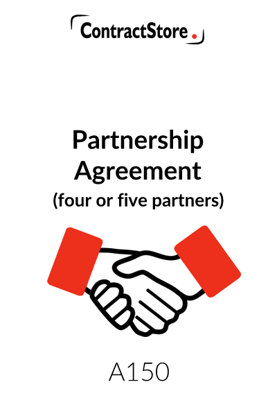 Partnership Agreement (4 or 5 Partners)
