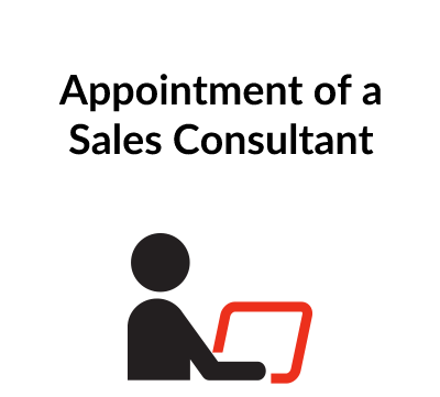 Appointment of Sales Consultant