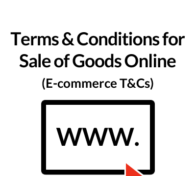 Terms & Conditions for Sale of Goods Online (E-commerce T&Cs)