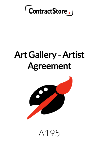 Art Gallery Agreement (Art Gallery Commission Agreement Template)