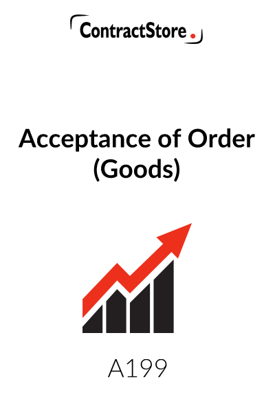 Acceptance Order of Goods