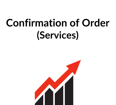 Confirmation of Order (Services)