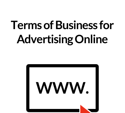 Terms of Business for Advertising Online