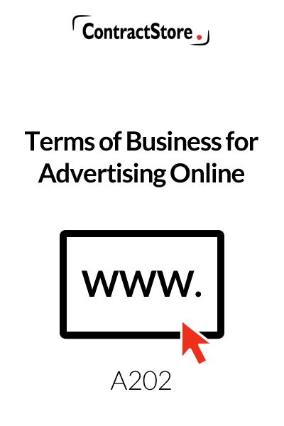 Online / Website Advertising Agreement Contract Template