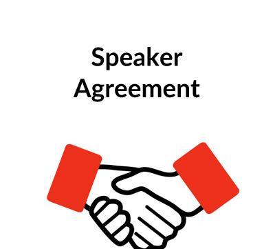 Speaker Agreement Contract