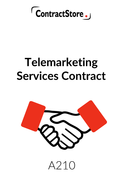 Telemarketing Services Agreement