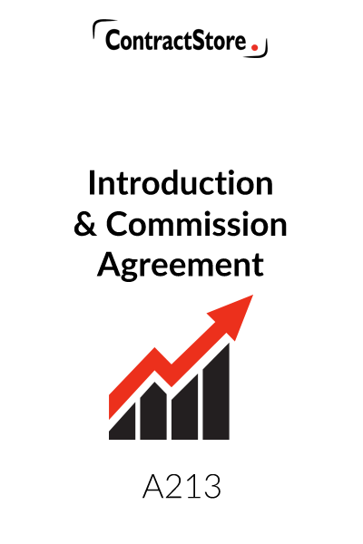 Introducer Agreement Template (Introducer Commission)