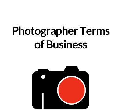 Photographer Terms of Business