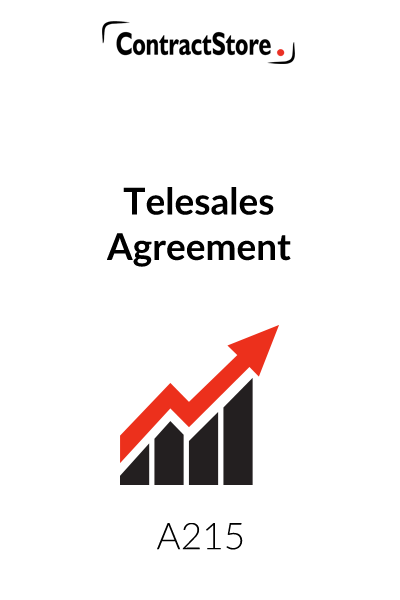 Telemarketing Contract Template
