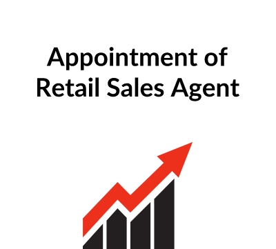 Appointment of Retail Sales Agent