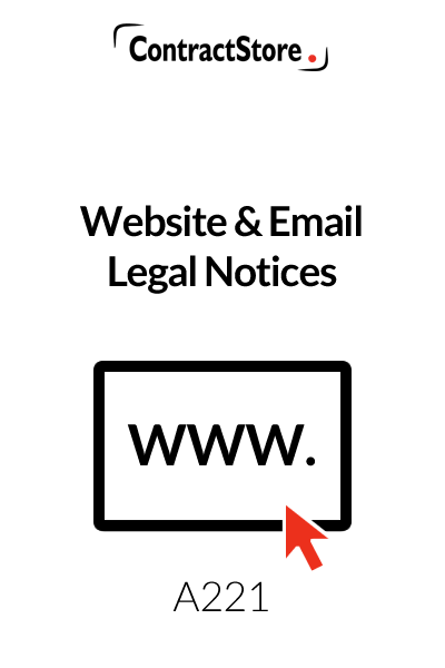 Website & Email Legal Notices