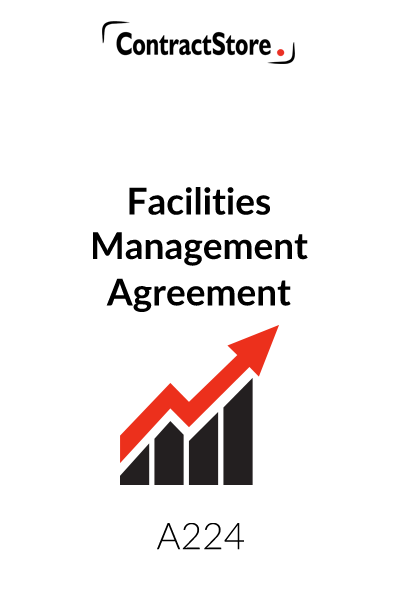 Facilities Management Agreement Template