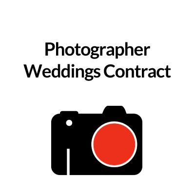Photographer Weddings Contract