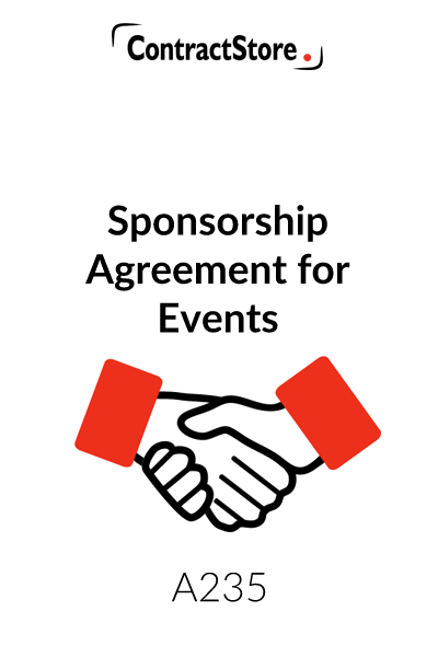 Event Sponsorship Agreement