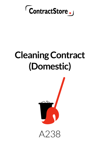 Domestic Cleaning Agreement