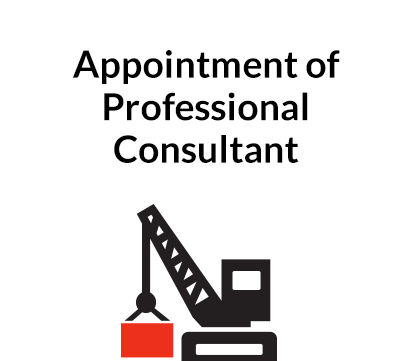 Appointment of Professional Consultant