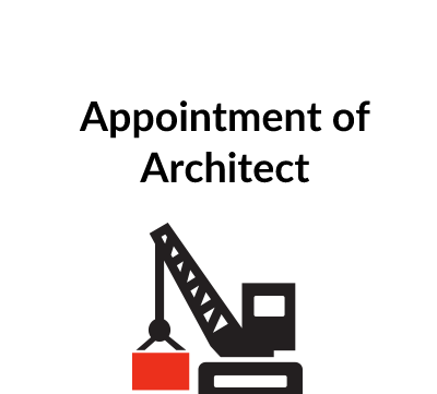 Appointment of Architect