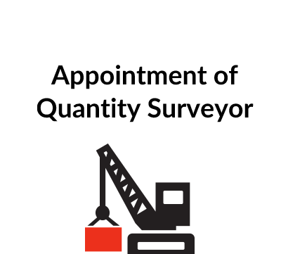 Appointment of Quantity Surveyor