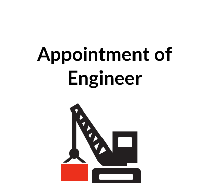 Appointment of Engineer