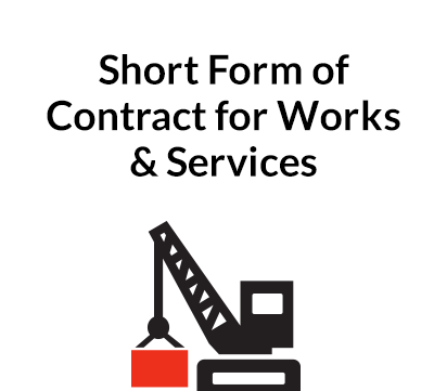 Short Form of Contract for Works & Services