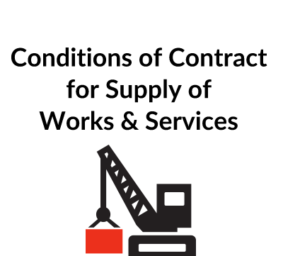 Conditions of Contract for Supply of Works & Services