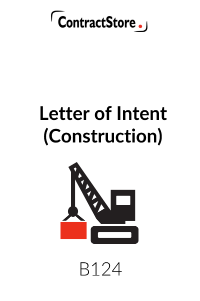 Letter of Intent (Construction)