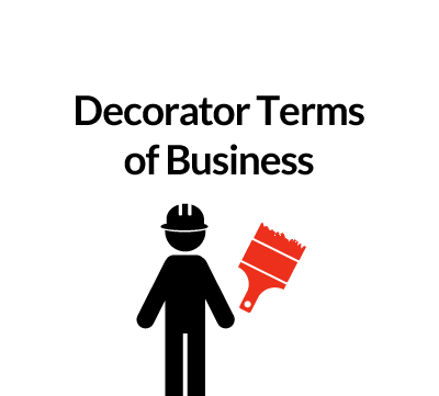 Decorator Terms of Business